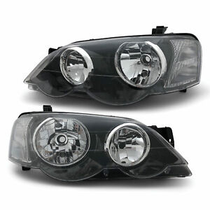 Headlights PAIR fits Ford Falcon BA BF XR6 XR8 FPV GT 2002 - 2008