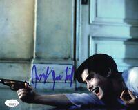 JENNIFER JASON LEIGH Signed SINGLE WHITE FEMALE 8x10 Full Autograph JSA COA