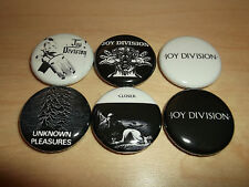 JOY DIVISION Buttons Pin Badges 6 post punk gothic rock goth new order