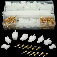 380PCS 2.8mm 2/3/4/6-Pin Car Motorcycle Wire Cable Connector Terminal Plug Kits