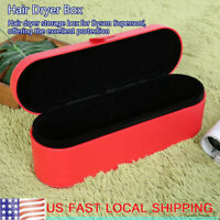 Hair Dryer PU Leather Storage Box for Dyson Supersoni Travel Carry Case Gift Box