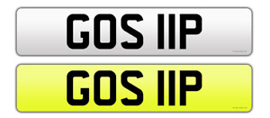 GOS 11P DATELESS REGISTRATION ON RETENTION PRIVATE PLATE CHERISHED PERSONAL
