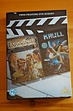Rare David Bowie Krull and Labyrinth Special Ed Boxset Sealed DVD