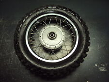 00 2000 HONDA XR50R XR 50 R MOTORCYCLE WHEEL TIRE RIM SPOKES RUBBER 2.75-10