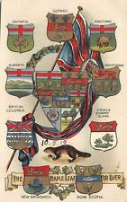 More details for br10593 maple leaf for ever canada litho