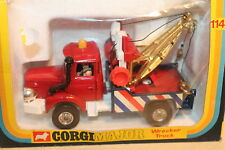CORGI TOYS * BERLIET WRECKER TRUCK * MAJOR TOYS * OVP * ORIGINAL