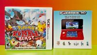 Pokemon Rumble Blast - Nintendo 3DS Case, Cover Art, Insert Ad ONLY *NO GAME*