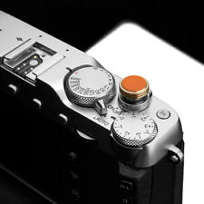 Gariz Soft Release Button XA-SBLOR for Fujifilm Fuji Leica Nikon Pentax Orange