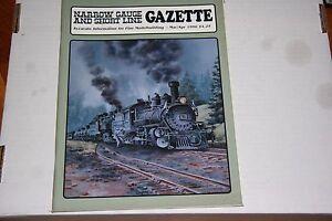 NARROW GAUGE & SHORTLINE GAZETTE ISSUE    3/4   1996