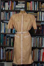 THIERRY MUGLER Vintage Designer Avante Garde Belted Dress France SIZE 40