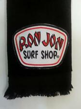 Ron Jon fingertip TOWEL black FREE SHIP surf surfer surfing ocean