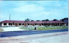 DUNN, North Carolina  NC  Roadside  DAWSON'S NEW MOTOR COURT  c1950s  Postcard