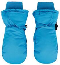 Winter Waterproof Ski Gloves Child Kids Boys Girls Solid Sports Snow Mittens
