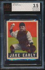 1949 Leaf rookie #61 Jake Early rc BVG 3.5 VG+ bgs