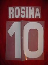 KIT ROSINA 10 BIANCO X MAGLIA CALCIO TORINO KAPPA NUOVO STILSCREEN
