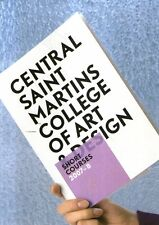 A12 Central Saint Martins college of art and design 2007 - 8
