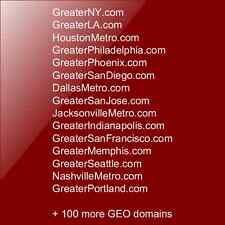 Collection of GEO Domain Names
