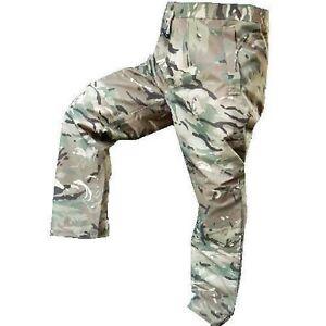 Genuine British Army Issue Trousers Combat Multicam MTP GoreTex Waterproof