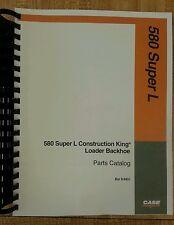 Case 580 Super L 580SL Loader Backhoe Parts manual book 8-9931