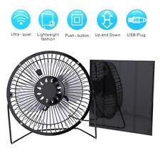 """4,5 W 6V Solar Panel + 6"""" USB Lüfter Solarventilator Home Auto Outdoor Camping"""