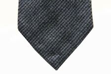Battisti Tie Grey & charcoal mini-check, pure cashmere