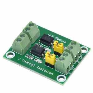 PC817, 2 channel opto-isolator breakout for Arduino optoisolator optocoupler ST