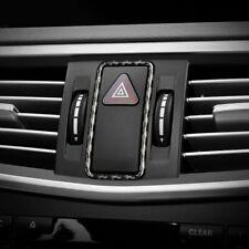 Carbon Fiber Warning Lamp Button Frame Trim For Mercedes Benz W204 W212 GLK260