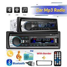 MP3 Autoradio Player Bluetooth FM Stereo USB TF AUX-IN WMA Fernbedienung 1DIN DE