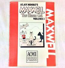 Alan Moore Maxwell The Magic Cat Volume 1 1986 (1979-1981) Acme London Spain
