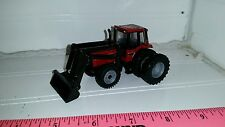 1/64 ERTL custom international ih 5488 fwa tractor duals black loader farm toy