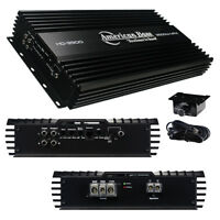 NEW AMERICAN BASS HD SERIES HD3500 3500 WATT CAR AUDIO MONOBLOCK SUB AMPLIFIER