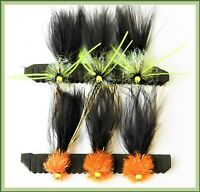 Trout Flies for Fly Fishing UK Hook sizes 10 or 12 HOTHEAD Trout Fish Flies