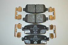 95516192 Genuine Vauxhall Rear Brake Pad Set Astra J/Mokka/Zafira C