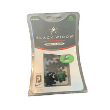 Black Widow Classic Golf Cleats Soft Spikes Fits Most Fj Golf Shoes 6ct Open Box