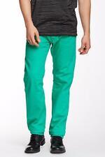 $195 NEW Diesel Jeans Darron in Vivid Green Size 33x32 Reg. Slim-Tapered