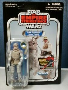 STAR WARS 2012 VINTAGE COLLECTION VC95 LUKE SKYWALKER HOTH OUTFIT UNPUNCHED NEW