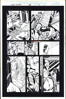 Josh Hood / Derek Fisher Original Comic Art Page Ghost Rider Issue 88 Page 12