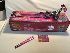 MULDOWNEY SHIRLEY  MUPPETS  25TH MAC TOOLS METAL RAIL  DRAGSTER ACTION 1/24 NICE