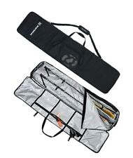 New listing Winterial Rolling Double Ski Bag Travel Bag with 5 Storage Compartments and R...