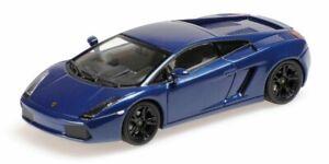 Lamborghini Gallardo 2006 Métallique Bleu 1:43 Model Minichamps