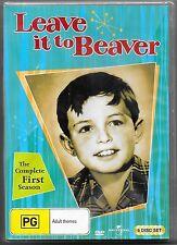 Leave It To Beaver : Season 1 DVD 6-Disc Aus Release New Region 4 Free Post