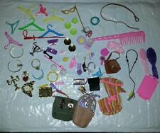 Vintage Barbie Doll Accessories Purses Hangers Plates & More