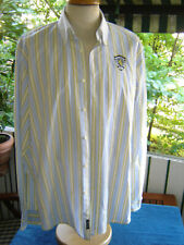 MC NEAL langarm Hemd size XXL Vintage gestreift Sporting Club used top