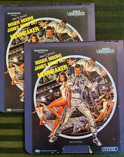 James Bond MOONRAKER CED Videodisc Set