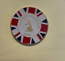 Fernet Branca Challenge Coin United Kingdom Year 2016
