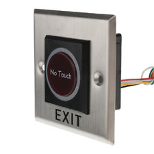 Infrared Stainless Steel Door Exit No Touch Button Access Control W/ LED#4