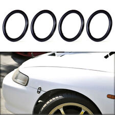 4X Car Bumper Fender Quick Release Fasteners Replacement Rubber Bands O-Rings P