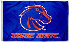 Boise State Broncos 3' x 5' Flag (Logo w/ Wordmark) NCAA Licensed