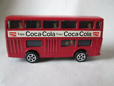 Corgi Juniors Daimler Fleetline London Double-Decker Bus Coke-Cola (Red 1:64)