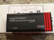 maxiicooper vigitron Utp Ethernet Extender Model Vi2301